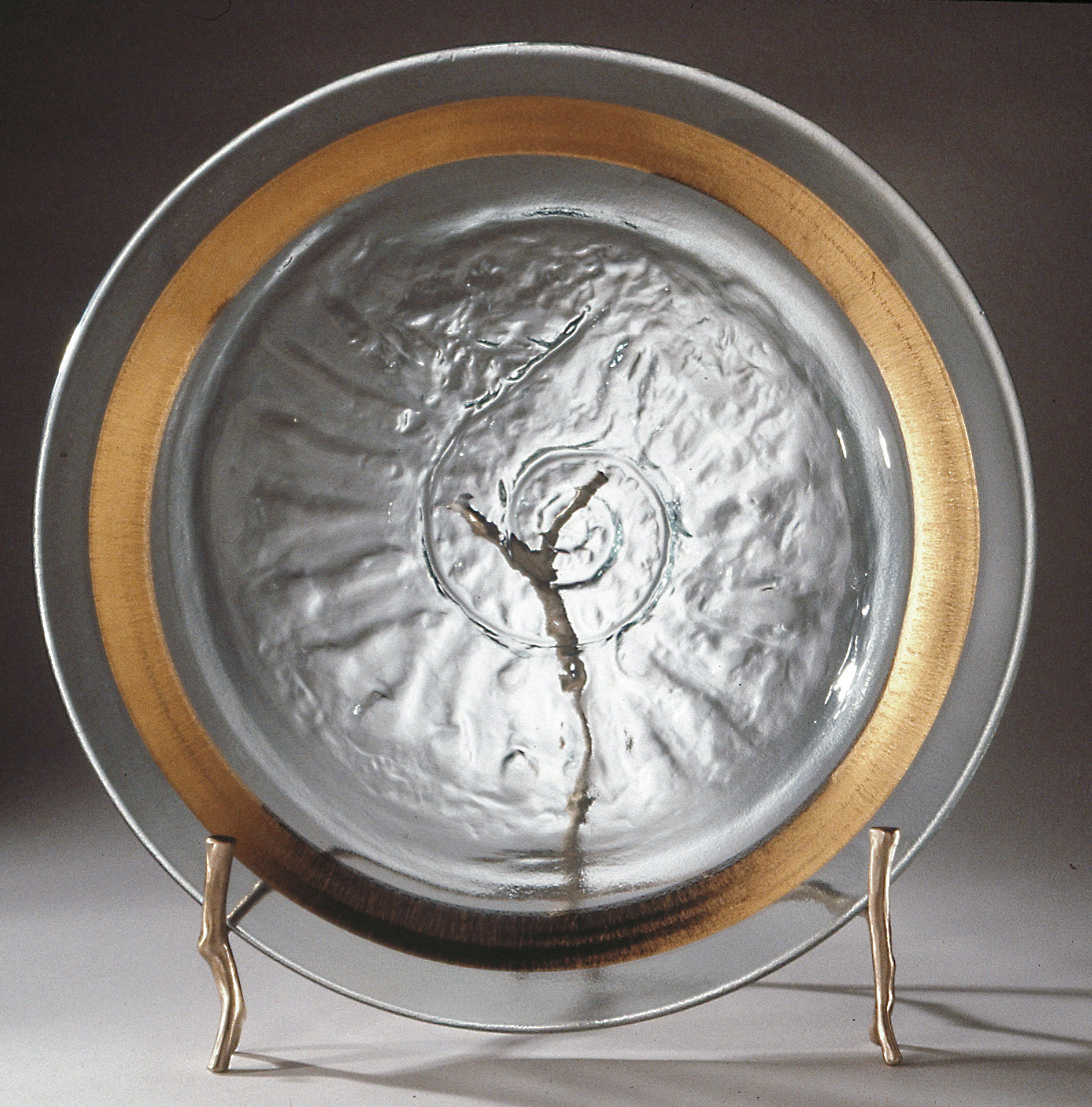 Large Decorative Plate With Stand Accessories Gillberg Design Inc : large decorative plate - pezcame.com